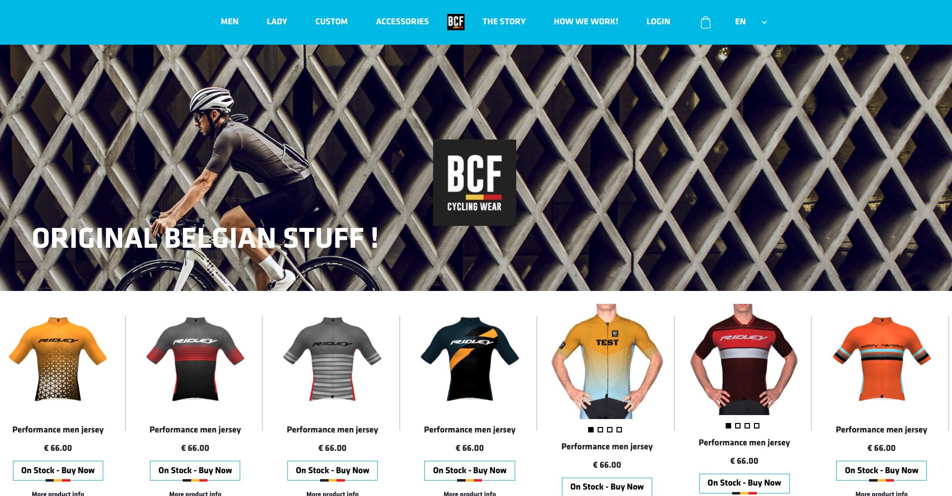 BelgianCyclingFactory- Homepage