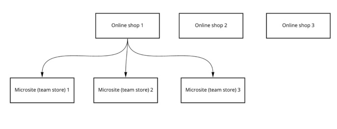 Multi-store-diagram