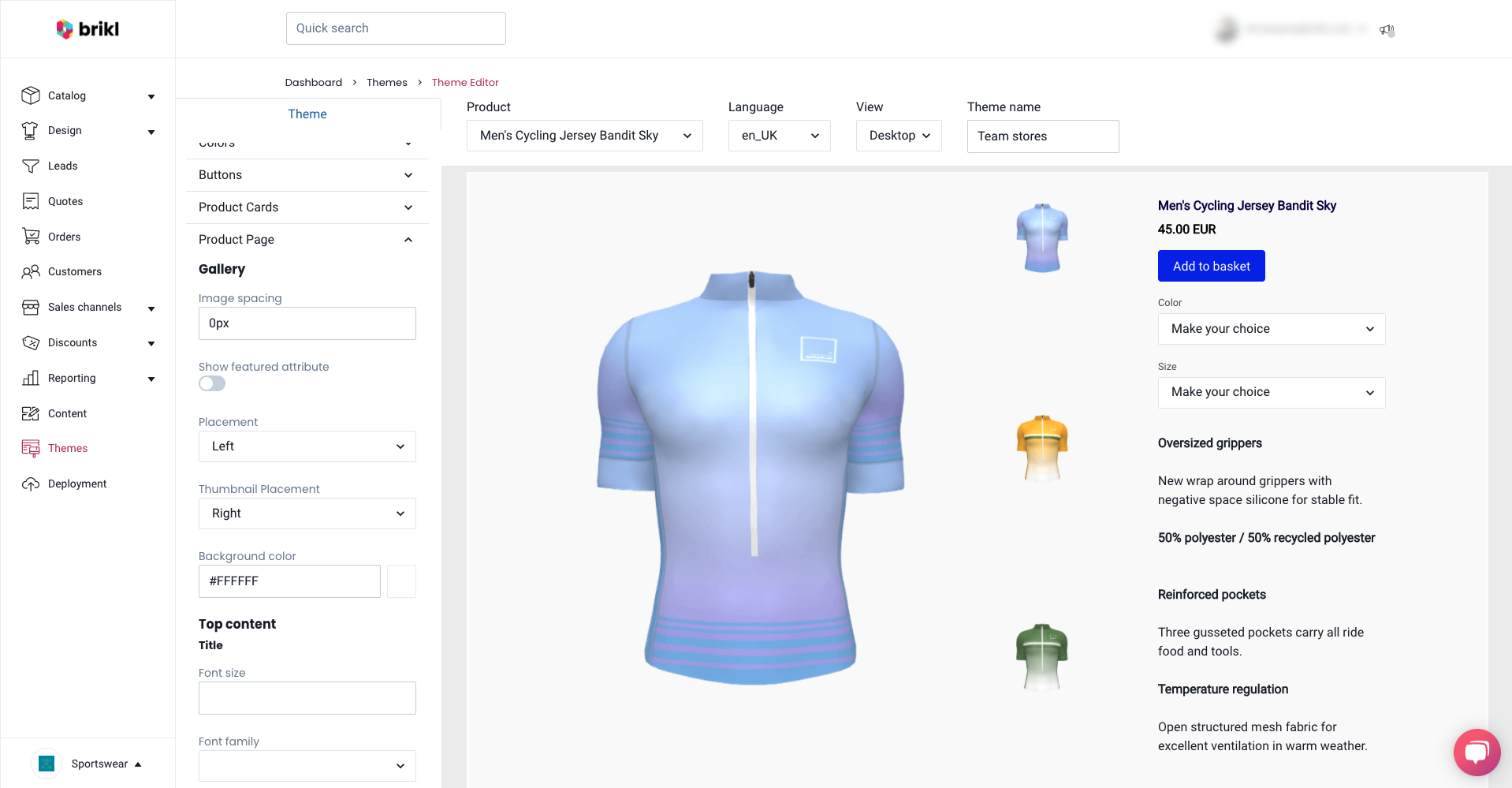 Theme-Product-Page